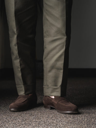 Cavour Suede Penny Loafer